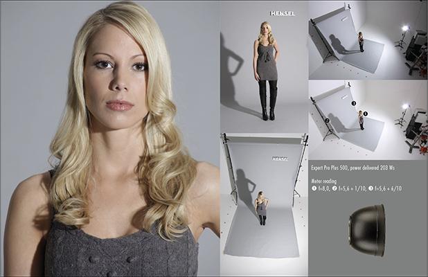"کاسه نرمال 7 اینچ هنسل Hensel 7"" Reflector"
